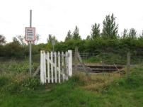 Haughley Green level crossing